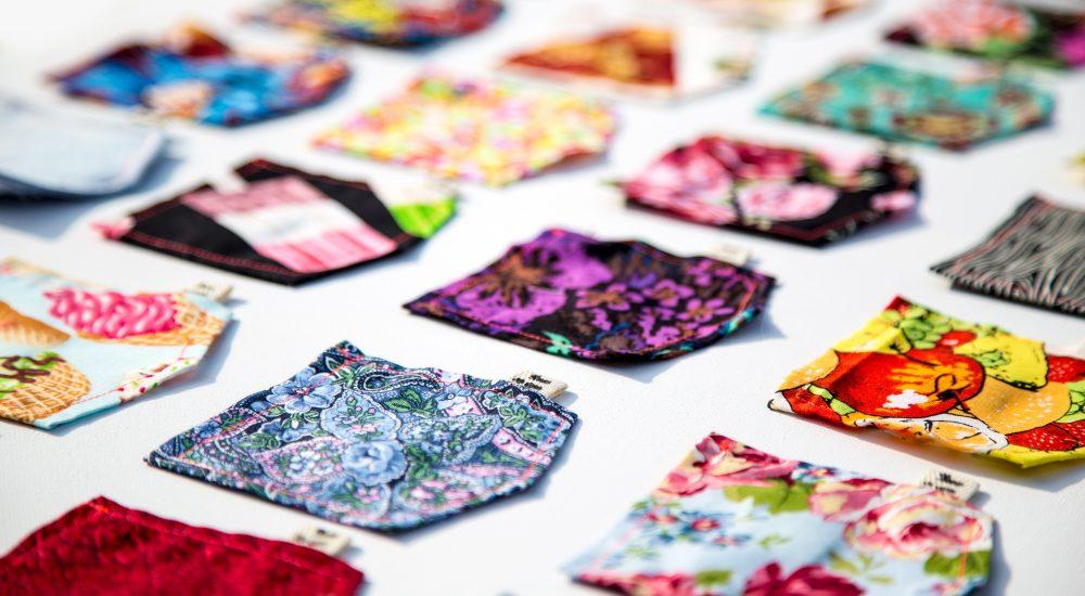 Industria tessile: toppe